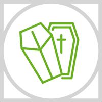 Icon für Bestattungen